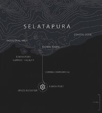 Plan view of Selatapura region