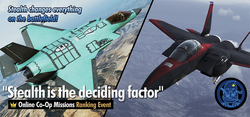 Stealth is the deciding factor Ranking Tournament Banner