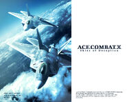 Ace Combat X F-22A Wallpaper 1280x1024