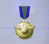 Ace x mp medal gold hawk