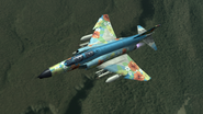 F-4G AC5 SP Skin Flyby