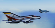 MiG-21bis Event Skin 02 Flyby