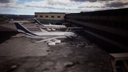 Emmeria Airways Airliners Parked
