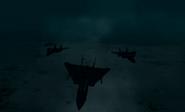 Razgriz squadron exiting Sudentor tunnel