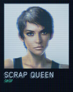Scrap Queen Official Portrait