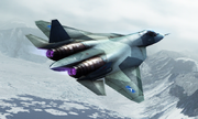 PAK FA over Snider's Top