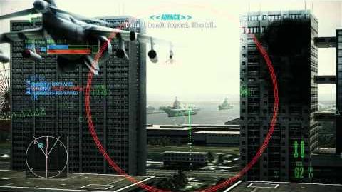 Ace Combat Assault Horizon DLC In-Flight Menu Trailer