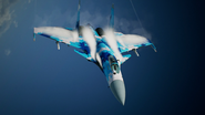 Su-37 Special Skin Turning