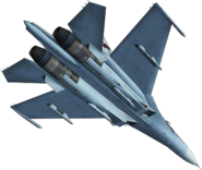 Su-27 Flanker (Back)