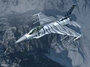 ACZ F-16C SILBER
