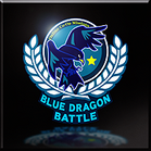 Blue Dragon Battle Emblem Icon