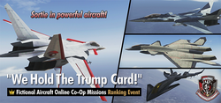 We Hold The Trump Card! Ranking Tournament Banner