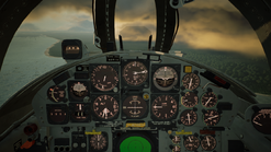 F-104C-AV- Cockpit(Noon-Sunset)