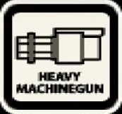 Heavy machine gun icon