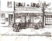 Sky Kid Café (Interior No Color)