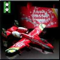 A-10A -Happy Holidays- Icon