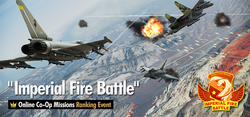 Imperial Fire Battle Ranking Tournament Banner