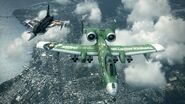 A-10 IMAS and Typhoon Makoto Flyby 1