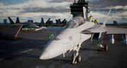 AC7 FA-18F Aircraft Carrier