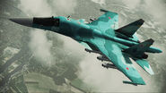 ACAH Su-34 Side