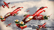 A-10A Happy Holidays Squadron