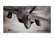 AC7 IMAGINE WEBSHOP F-22A Poster
