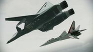 ADFX-01 -Pixy- and XFA-27 -Scarface1- Flyby