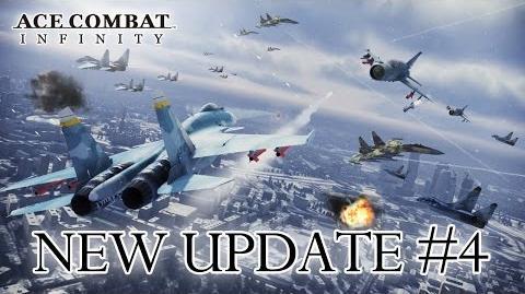 Ace Combat Infinity - PS3 - Update 4 News Dispatch (Trailer)