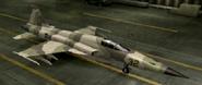 F-5E Mercenary color hangar