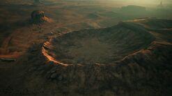 AC7 Roca Roja Crater