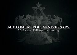 Ace Combat 20th Anniversary Wallpaper