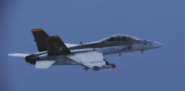 FA-18F -Avalanche- flyby