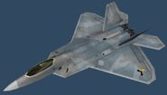 F-22A PMC (Desert Body)