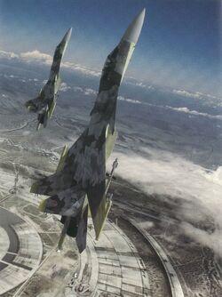 Yellow Squadron Vertical Over Stonehenge