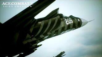 Ace Combat 7 Skies Unknown - DLC 5 Anchorhead Raid Release Trailer - PS4 XB1 PC