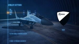Emblem Select Menu AC7