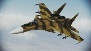 Su-37 Terminator Infinity Flyby