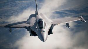 AC7 Rafale M Flyby