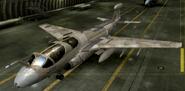 EA-6B Special color hangar