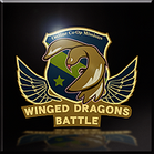 Winged Dragons Battle Emblem Icon
