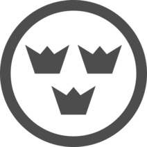Roundel of Sweden – Low Visibility
