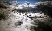 Arsenal Bird over clouds