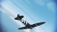 Spitfire FA flyby 2