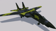 F-14A Normal Skin 01 (YE) Hangar