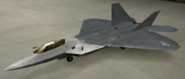 F-22A Special color hangar
