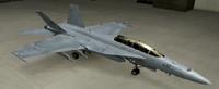 EA-18G Standard color hangar