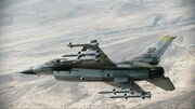 F-16C with 4AAM
