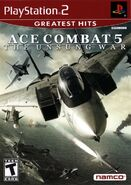 Ace Combat 5 Greatest Hits Box Art NA