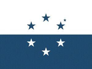 Bandera - República Federal de Osea