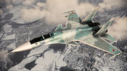 ACAH Su-37 Color 2 Flyby